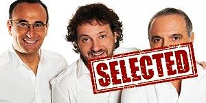 panariello-conti-pieraccioni-palalottomatica-roma