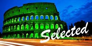 Festa-di-San-Patrizio-a-Roma---Colosseo-verde